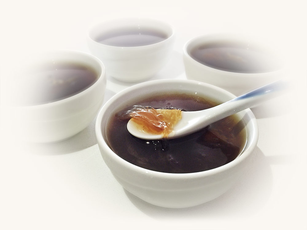 Ciala manuka honey birdnest soup dessert