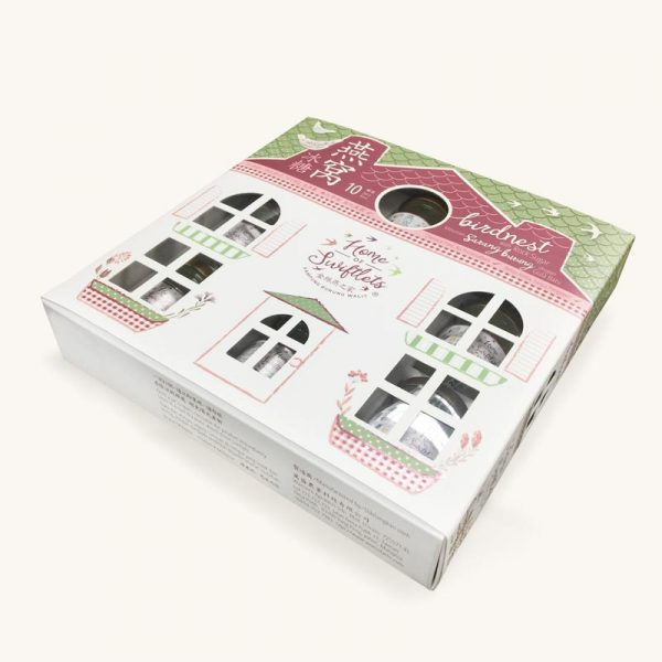 Home of Swiftlets birdnest with rock sugar gift box
